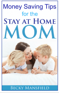 money saving tips for the stay at home mom