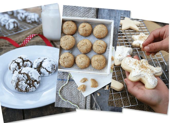 Healthy cookies using natural healthy ingredients