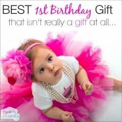 best 1st birthday gift