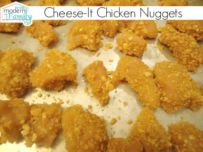 cheese-it chicken nuggets
