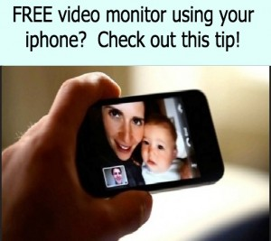 iphone for video montior