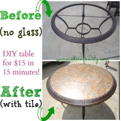 replace glass tabletop