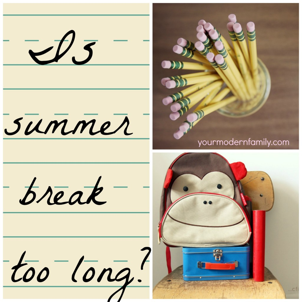 Is summer break too long for kids