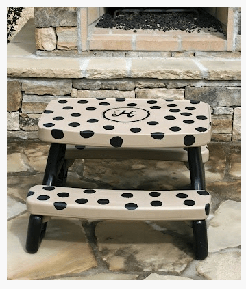 little tikes table makeover