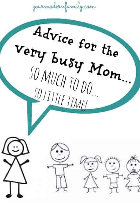very busy mom