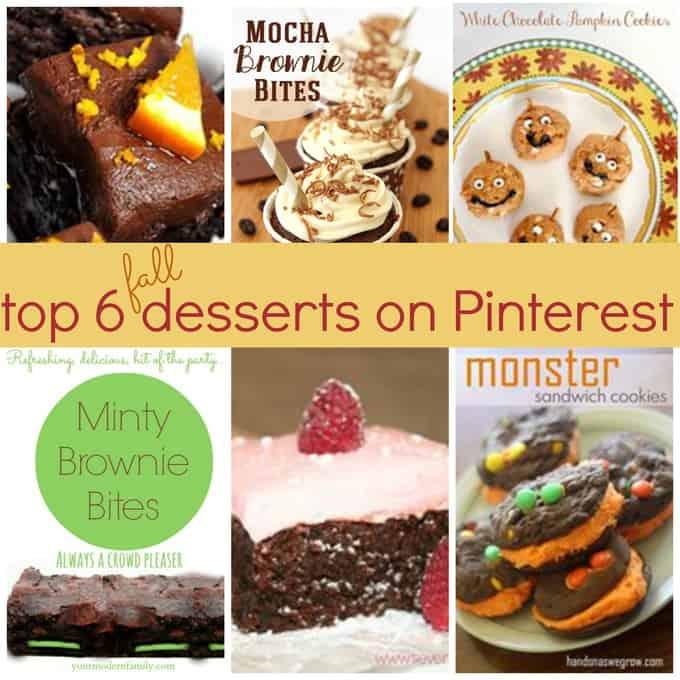 best fall desserts
