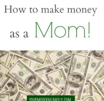 make money as a mom