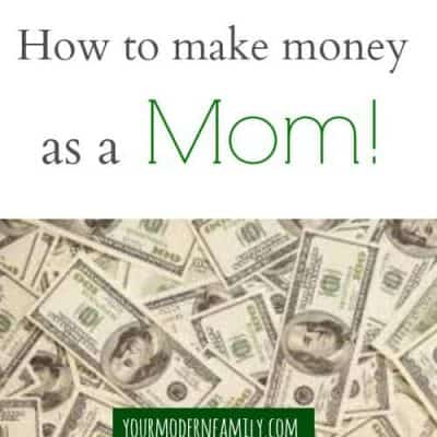 make money as a mom