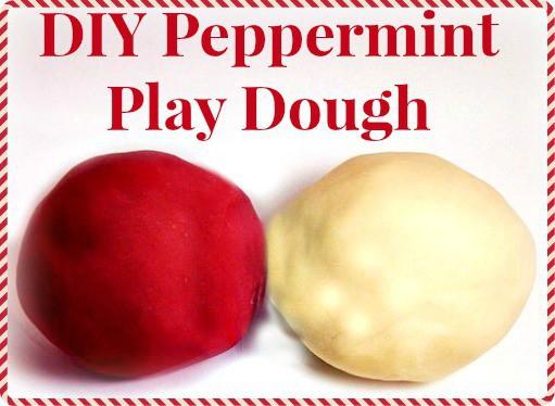 peppermint play dough