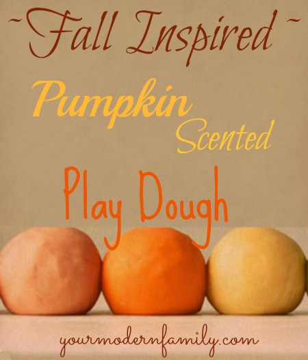 pumpkin pie play dough