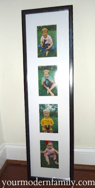 creative and inexpensive gift for Grandparents  yourmodernfamily.com