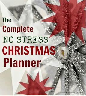 no stress christmas planner