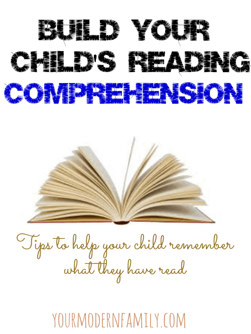 How to build your child's comprehension skills
