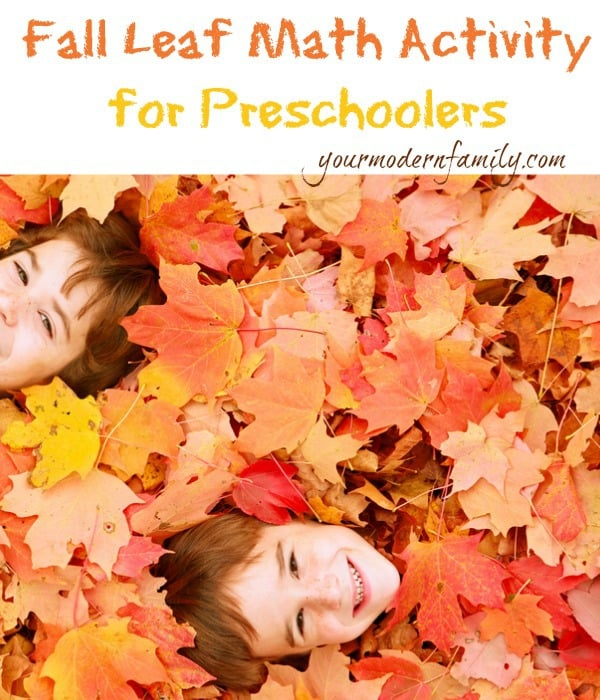 Leaf Counting Activity For Preschoolers Your Modern Family