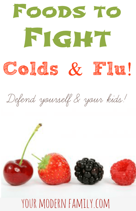 fight colds with food