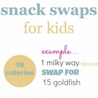 healthy snack swaps for kids