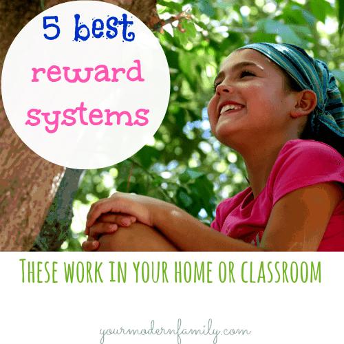 THESE WORK!!! Reward Charts for Children - 5 reward systems that work
