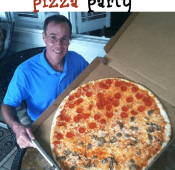 the biggest pizza