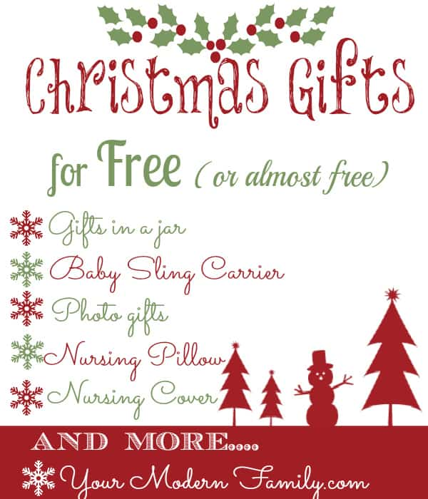 Free (or almost free) Christmas Gifts!