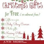 20 free (or almost free) Christmas Gifts!