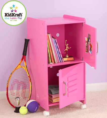 personalized kids lockers for your house - on sale!  So cute & practical!