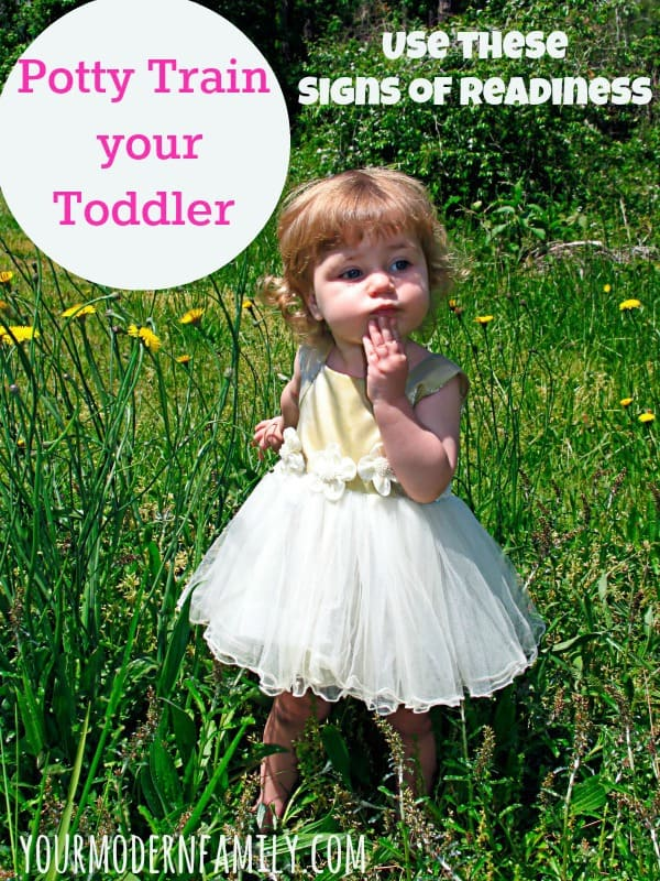 Potty Train Toddler - is your child ready?