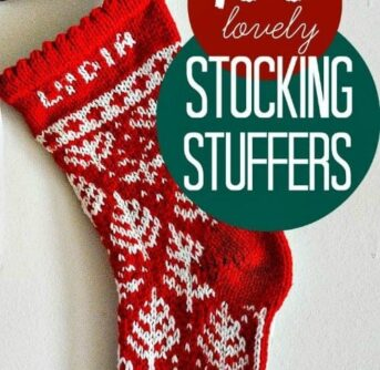 stocking stuffers featured on Your Modern Family's pin-it party!