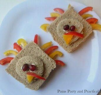 "Make a 'turkey"" sandwich with tuna, chicken or PB&J."