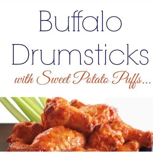 BUFFALO DRUMSTICKS RECIPE (IN SLOW COOKER)