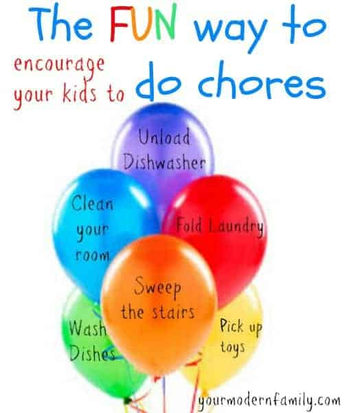 One AMAZING way to make chores fun for kids