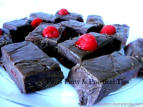 The best cherry chocolate fudge you'll ever taste!