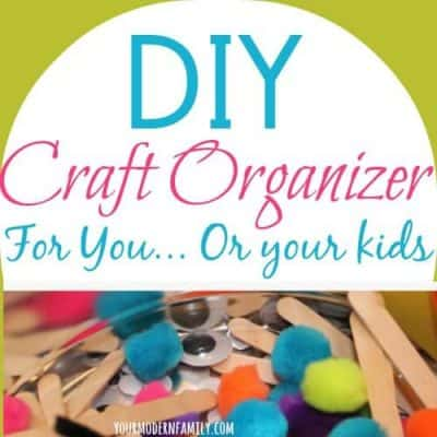DIY craft organizer - love this idea!