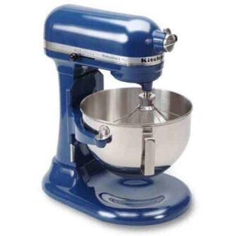 win a kitchenAid mixer! YOU pick the color!
