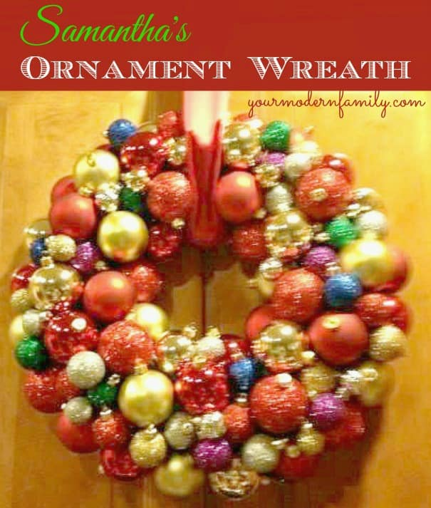 wreath - samantha