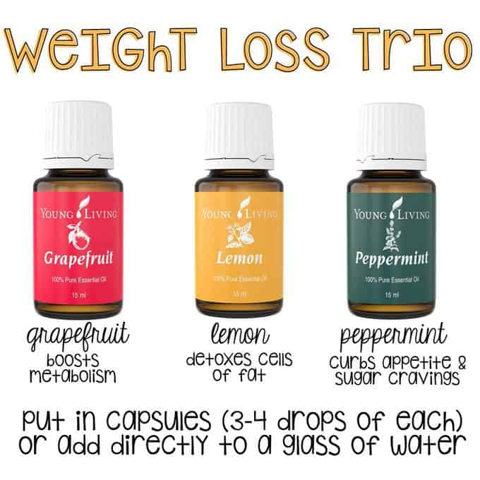 young living oils weight loss