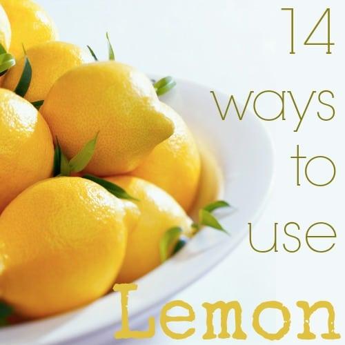 different uses for Lemon