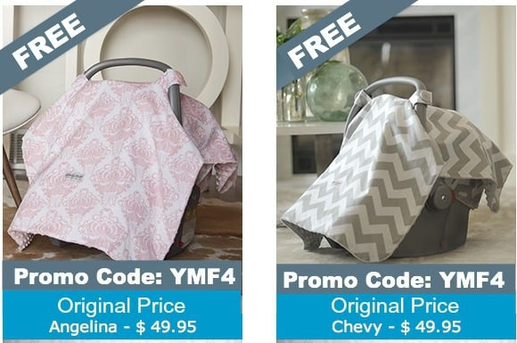 Free Carseat Canopy with code YMF4