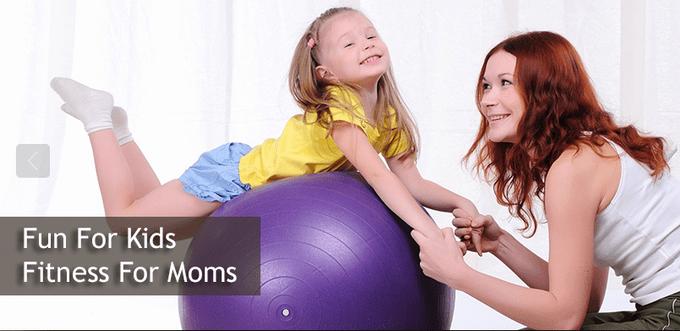 Kid & mom workout
