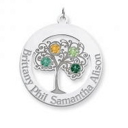I love these with our kids names & birthstones!! (or grandkids!)