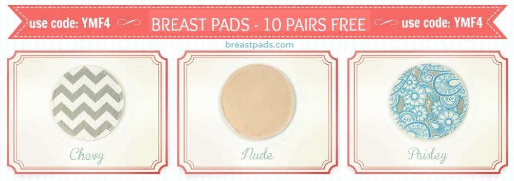 breastpads free