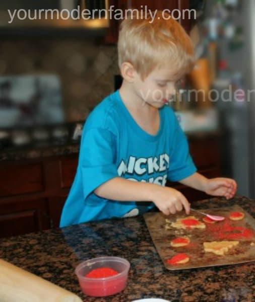5 best things about Christmas break. #4 - making cookies!