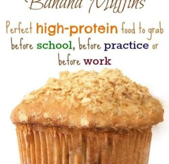Perfect high-protein food to grab before school, before practice or before work