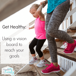 How to create a vision board for health