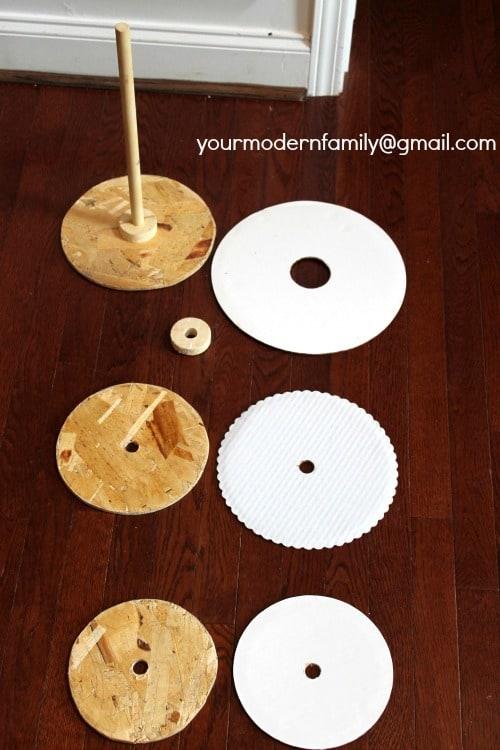 DIY cupcake tower 1