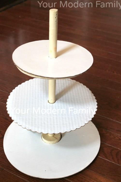DIY cupcake tower 6