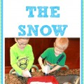 Have fun spraying the snow!- INSIDE!