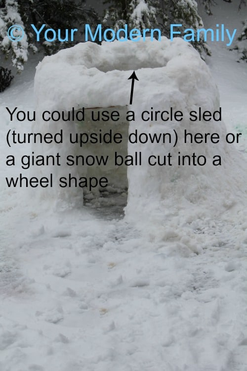 How to build an igloo (full directions & pictures)