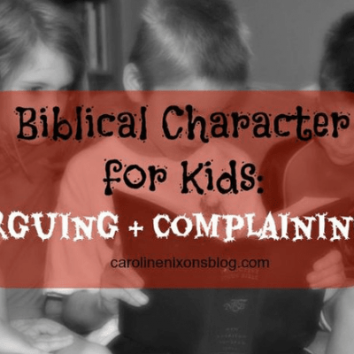 kids complaining? Use this biblical approach
