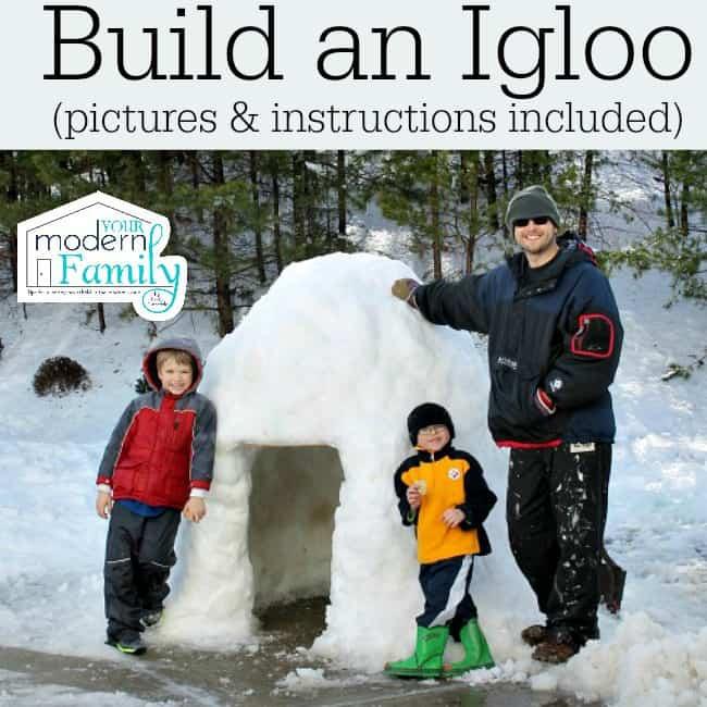 build an igloo - instructions