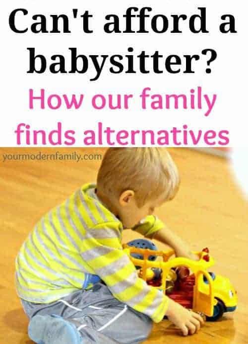 cant afford a babysitter how one family makes it work
